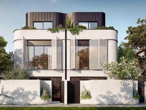 Light Gauge Steel design on 8 townhouses